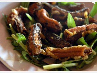 Lươn chiên sả ớt, món ngon vô đối thơm ngon tròn vị