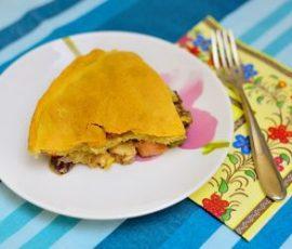 Bánh nướng nhồi thập cẩm ngon miệng đãi cả nhà