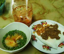 Bánh cuốn trứng Lạng Sơn thơm ngon bổ dưỡng
