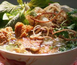 Bún bung Thái Bình mang đậm chất quê