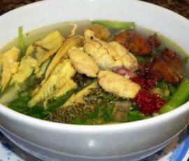 Canh cá rô đồng Hưng Yên