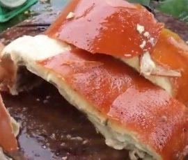 Lợn quay lá mác mật  Lạng Sơn