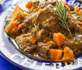 Món thịt bò kho khoai lang kiểu Ý