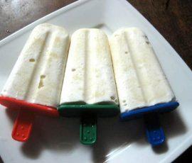 Món kem đậu xanh không cần máy bé mê tít