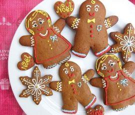 Món bánh quy gừng cho ngày lễ giáng sinh