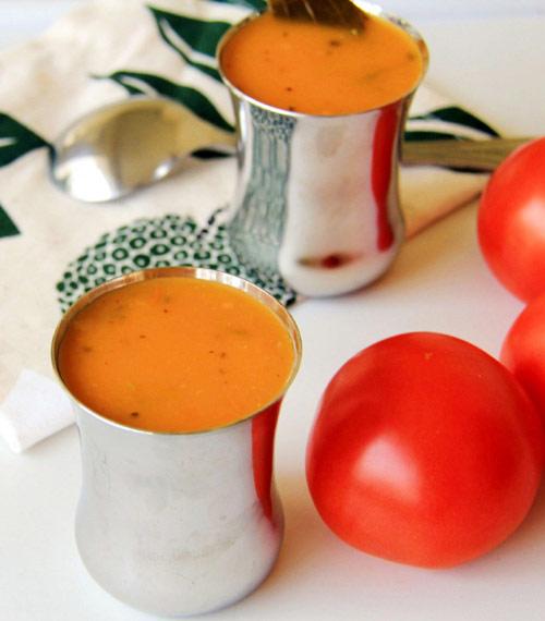 Món súp cà chua mới lạ ngon tuyệt hảo