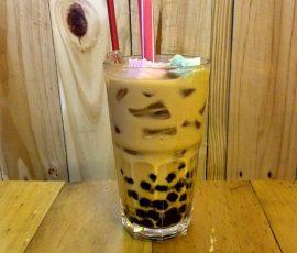 Món trà sữa trân châu socola giải nhiệt ngày nắng