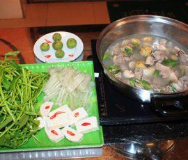 Món vịt om sấu ngon chuẩn hương vị Hà Nội