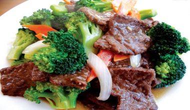 Thịt bò xào súp lơ xanh - món ăn tốt cho nam giới