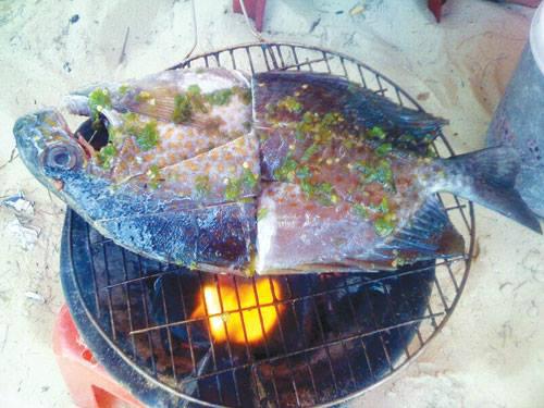 Món cá tà ma nướng